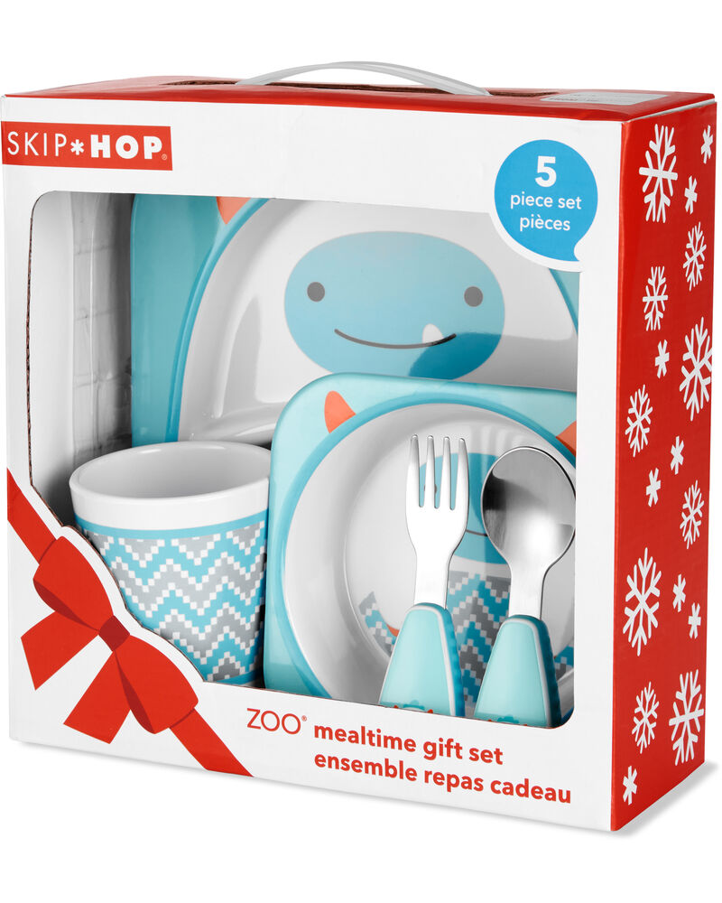 ZOO Winter Melamine Gift Set- Yeti, , hi-res