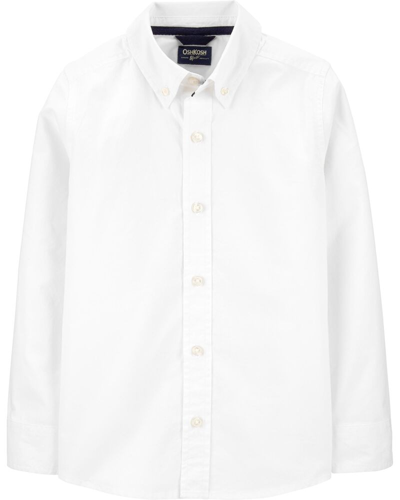 Uniform Button-Front Shirt, , hi-res