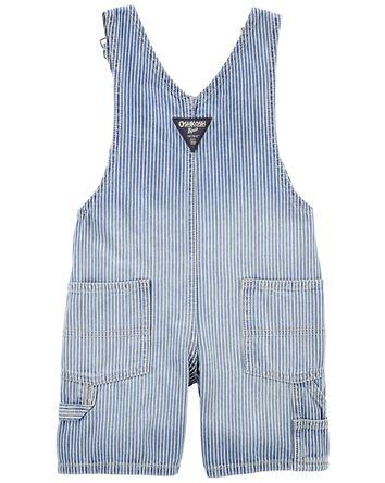 Hickory Stripe Shortalls