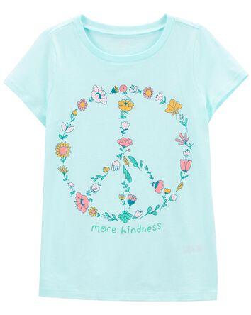T-shirt en jersey Peace