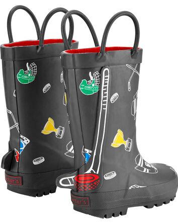 Hockey Rain Boots