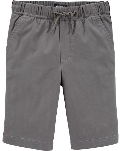 Side Stripe Pull-On Shorts