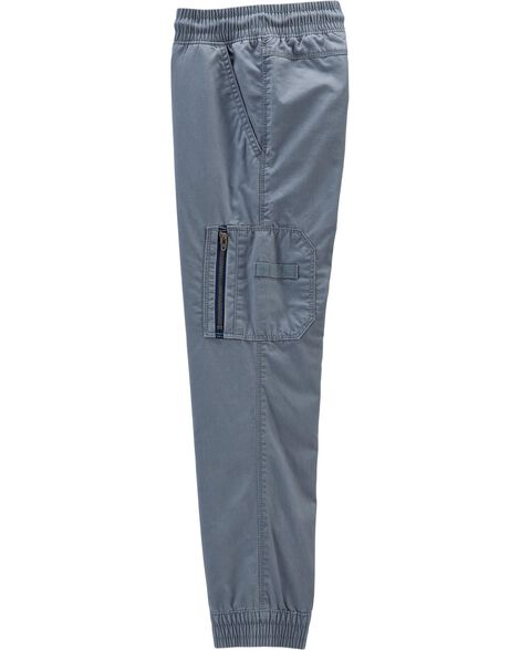 Pantalon cargo à enfiler