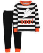 Pyjama d'Halloween 2 pièces en coton ajusté, , hi-res