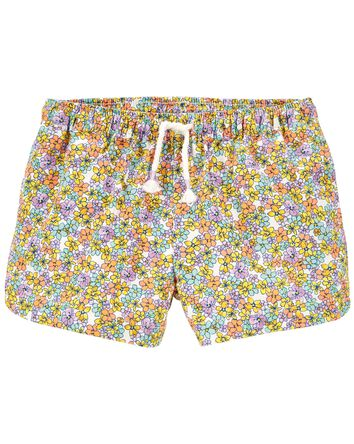 Floral Dolphin Shorts