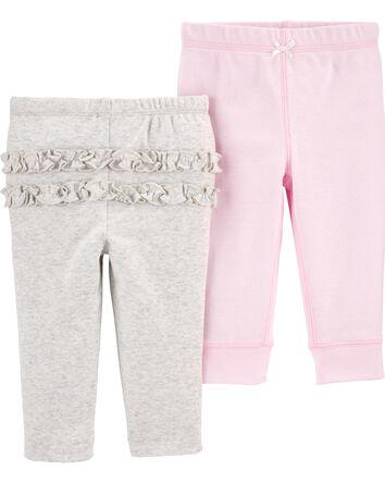 2-Pack Cotton Pants
