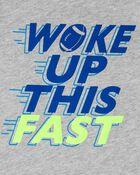 Woke Up This Fast Jersey Tank, , hi-res