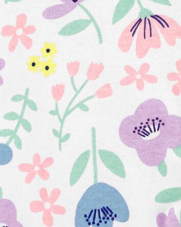 Floral 2-Way Zip Cotton Sleep & Pla...