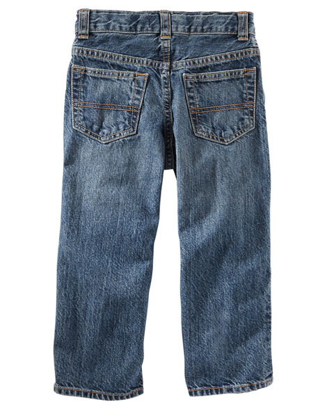 Jeans classique - délavage moyen