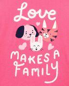 T-shirt en jersey Pet Family, , hi-res