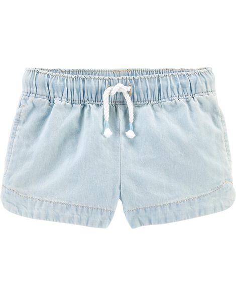 Chambray Sun Shorts