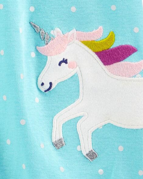 Unicorn Snap-Up Romper