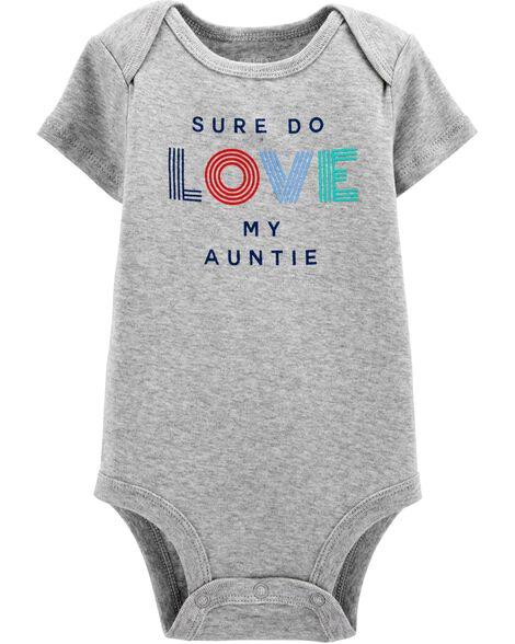 Love My Auntie Collectible Bodysuit