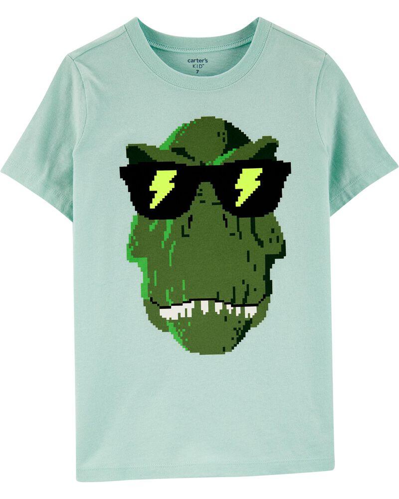 Video Game Dinosaur Jersey Tee, , hi-res