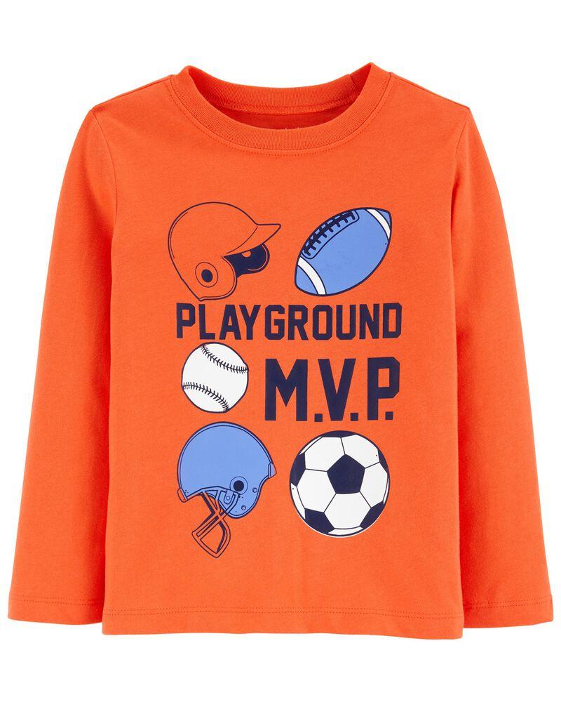 T-shirt en jersey MVP, , hi-res