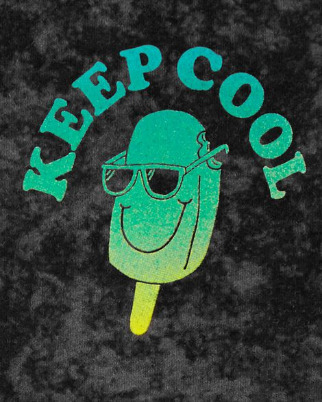 T-shirt sans manches à slogan Keep Cool
