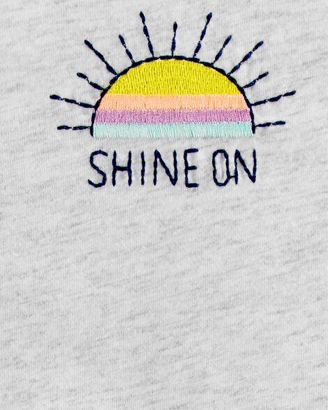 Sunshine Tie-Front Tee