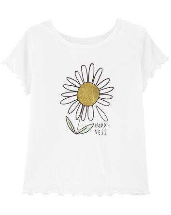 T-shirt tournesol Tween