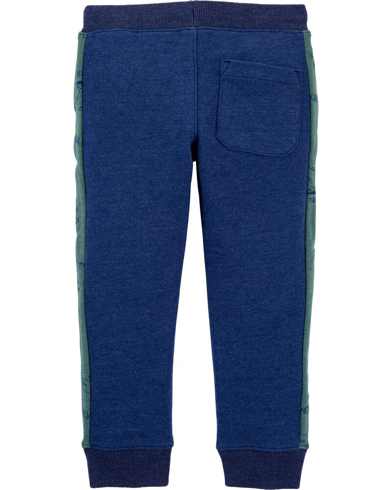 Pull-On French Terry Joggers, , hi-res