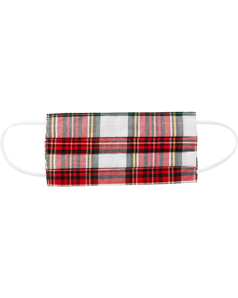 Plaid Face Mask, , hi-res