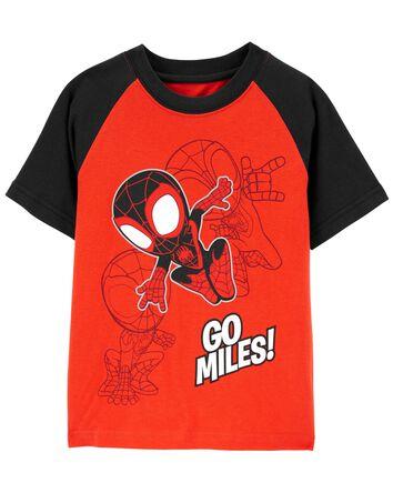 T-shirt Spider-Man qui brille dans...