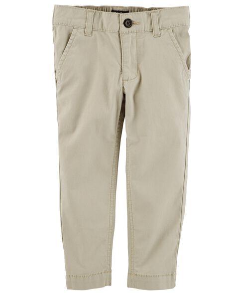 Pantalon d'uniforme en coutil extensible