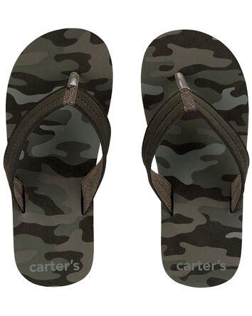 Sandales de plage camouflage