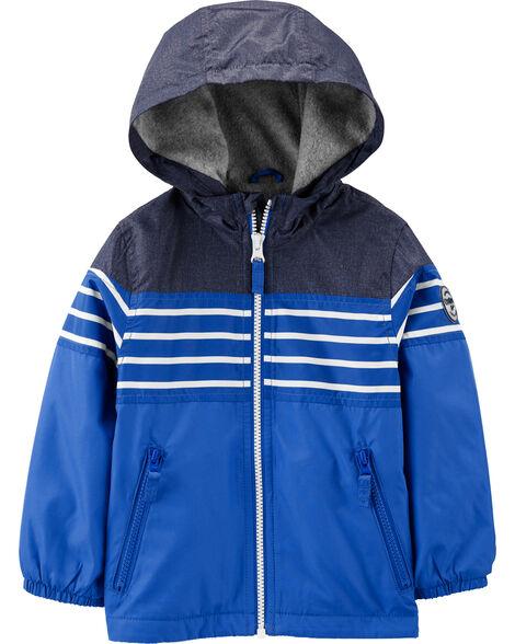 Colourblock Windbreaker Jacket