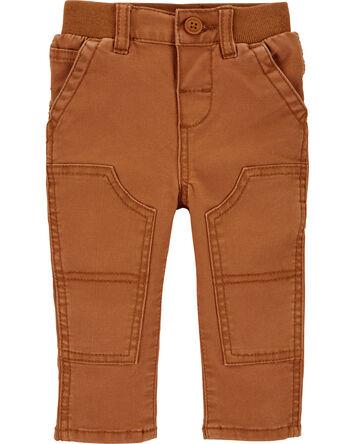 Knee-Patch Carpenter Pants