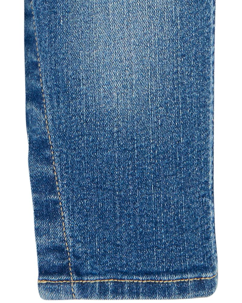Salopette en denim à logo, , hi-res