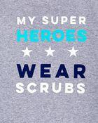 My Super Heroes Wear Scrubs, , hi-res