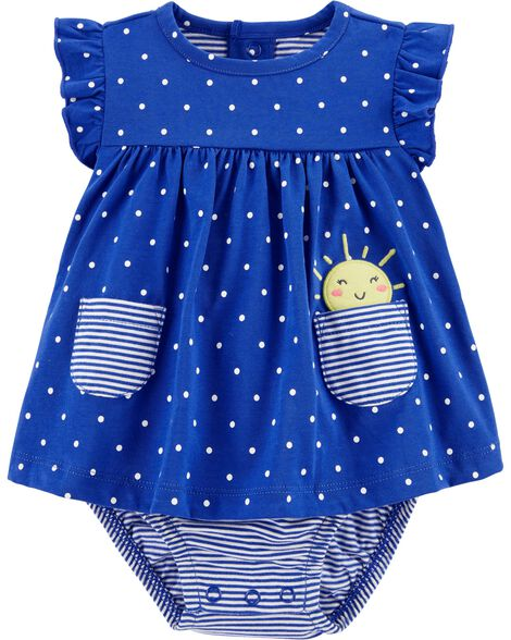 Polka Dot Sunsuit