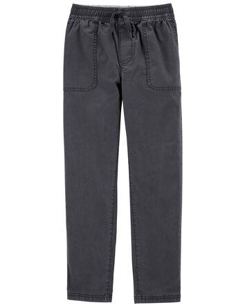 Pantalon en toile extensible facile...