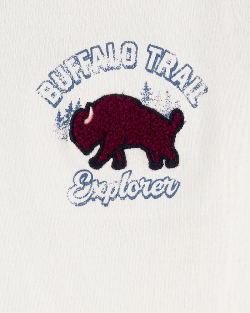Buffalo Trail Raglan Thermal Bodysuit, , hi-res