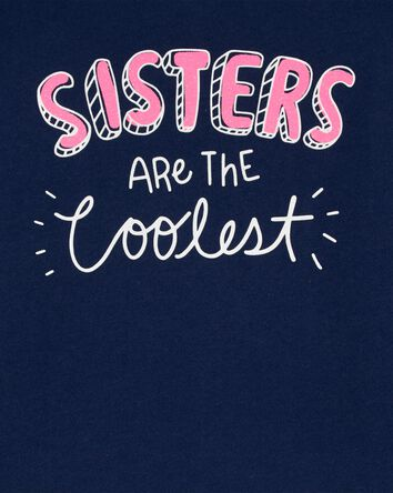 T-shirt en jersey Sisters Are The C...