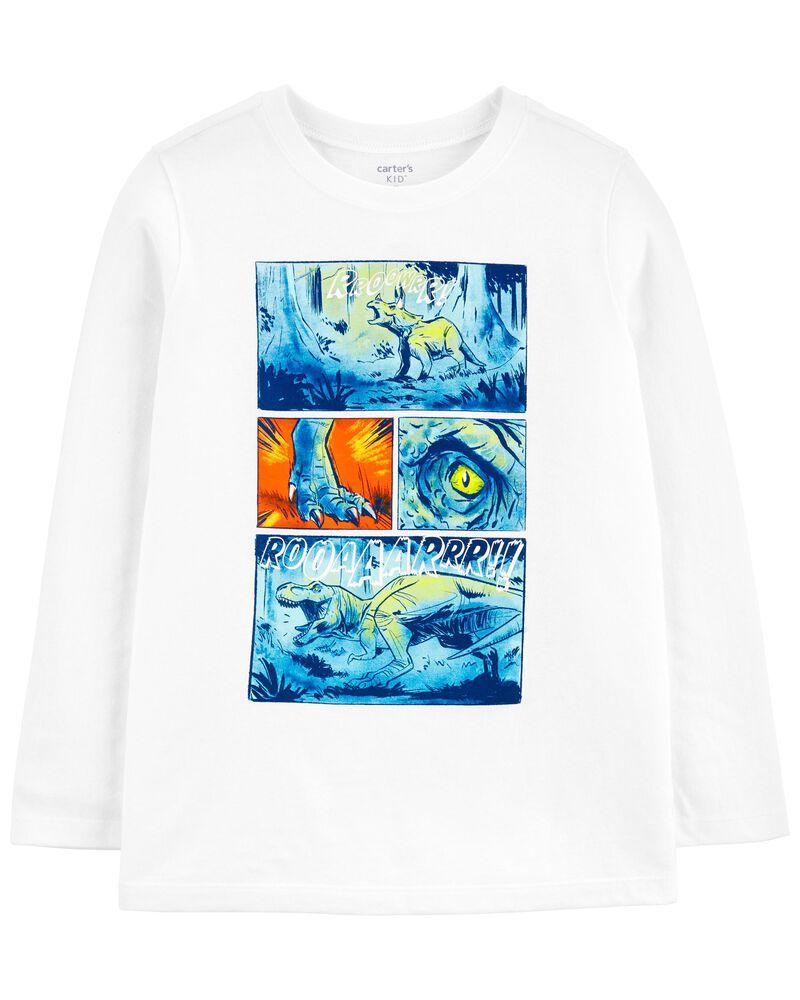 T-shirt en jersey comique, , hi-res
