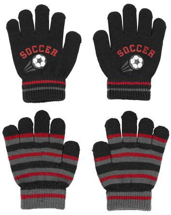 KOMBI 2-Pack Soccer Mini Glove Set