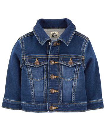 Classic Knit Denim Jacket