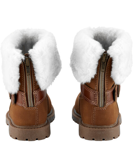 Faux Sherpa Boots