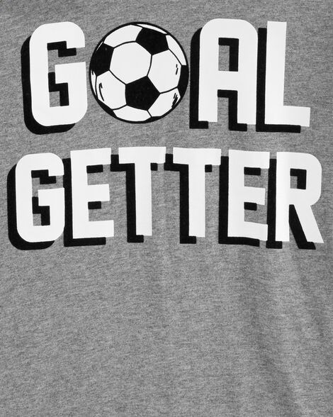 Haut à capuchon à manches raglan Goal Setter