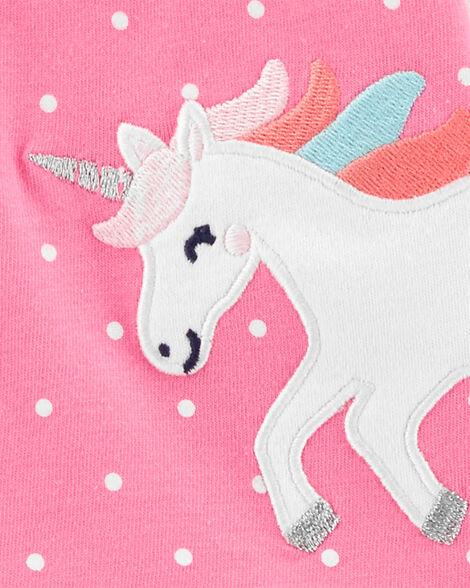 3-Piece Unicorn Little Short Set