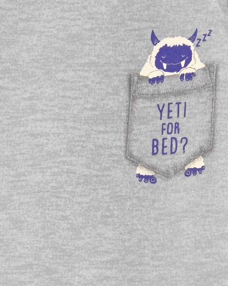 Pyjama 2 pièces yéti