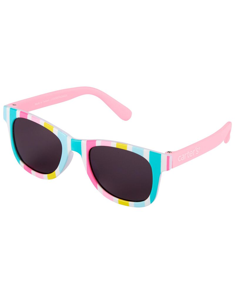 Striped Classic Sunglasses, , hi-res