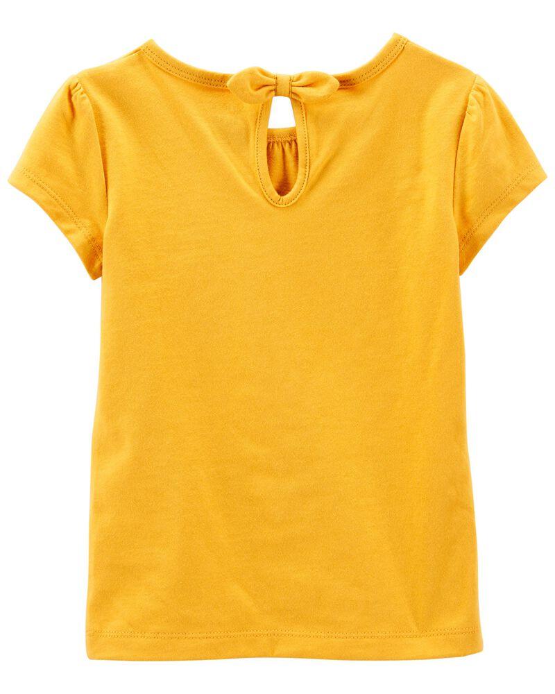 T-shirt en jersey à tournesol, , hi-res