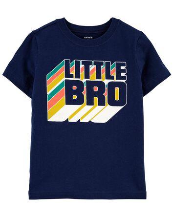 T-shirt en jersey Little Bro
