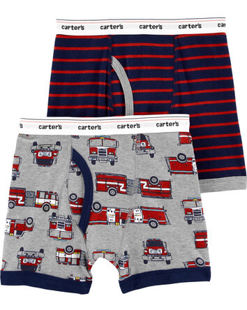 2-Pack Cotton Boxer Briefs