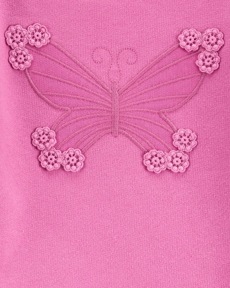 Ensemble 2 pièces haut à papillon et legging fleuri, , hi-res
