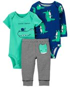 3-Piece Bodysuit Pant Set, , hi-res