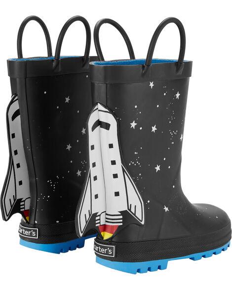 Bottes de pluie à fusée