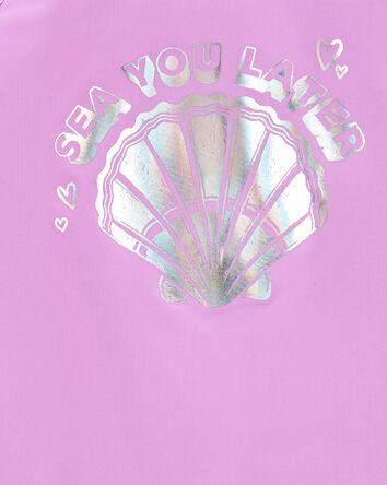 Sparkle Seashell Rashguard Set